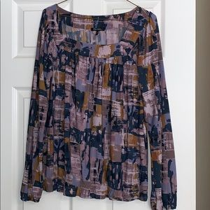 Perfect for Fall- long sleeve blouse